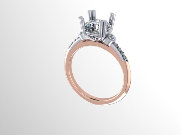 """The """"TBD"""" Solitaire- Featuring a 1.95ct Old European Cut Diamond"""