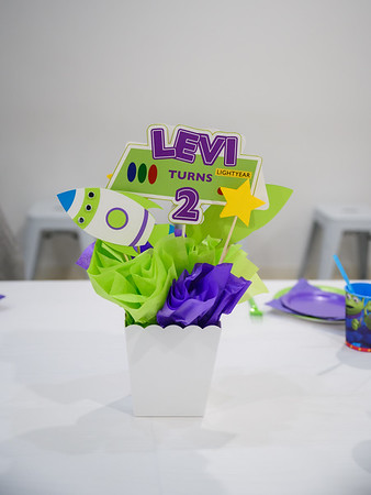 Levi's 2nd Birthday