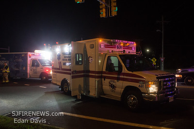 10/08/2019, MVC with Entrapment, Millville City, Cumberland County NJ. N 2nd St. and Union Lake Blvd.