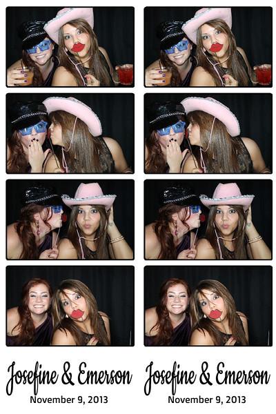 Josefine & Emerson November 9, 2013