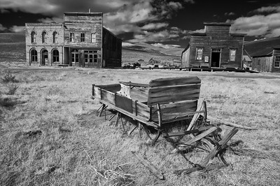 Bodie Ghost Town BW Infrared Photography