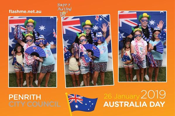 Australia Day Celebrations - 26 January 2019