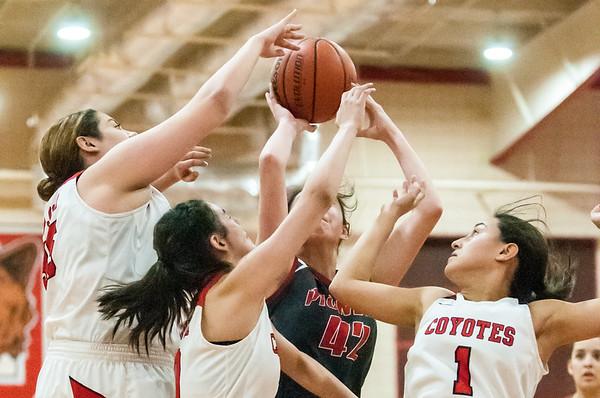 Nov. 27, 2018 - Girls Basketball - Pioneer vs La Joya_LG