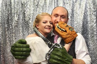 Jennifer and Philip Wedding Booth