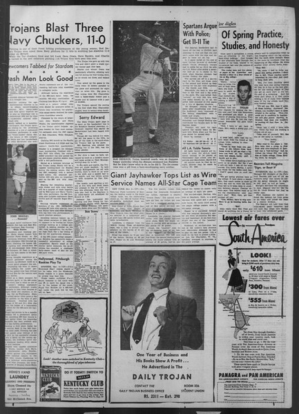 Daily Trojan, Vol. 43, No. 89, March 05, 1952