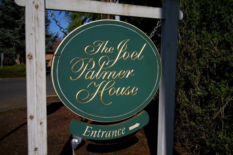 We had dinner here at Joel Palmer House.  Absolutely fantastic
