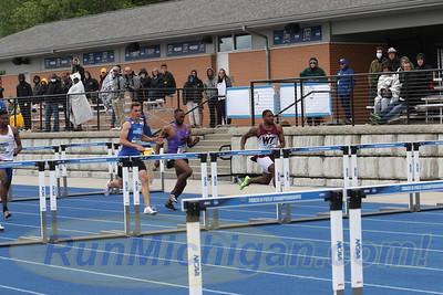 110M Hurdles Prelims Men - 2021 NCAA Division II Outdoor Track & Field Championships