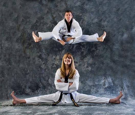 Ashley & Chris Black Belt Studio Shoot