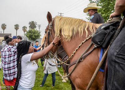 20190531 San Bernardino PD Mounted Unit Visits Tri-City