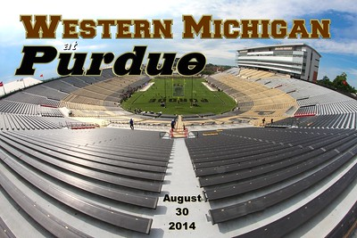 2014 Western Michigan at Purdue (08-30-14)