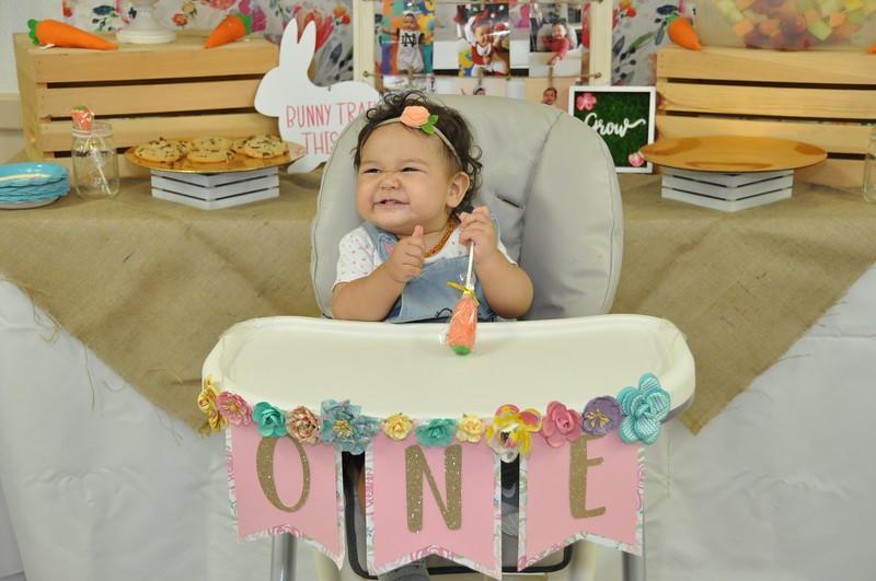Mialani's First Birthday!!!!