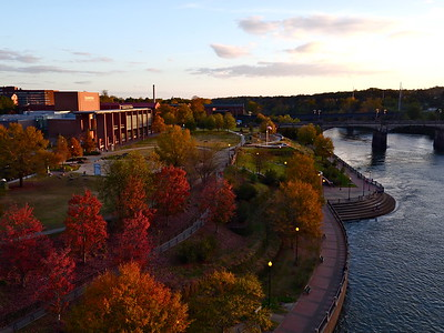 Fall Sunset Riverwalk 2015