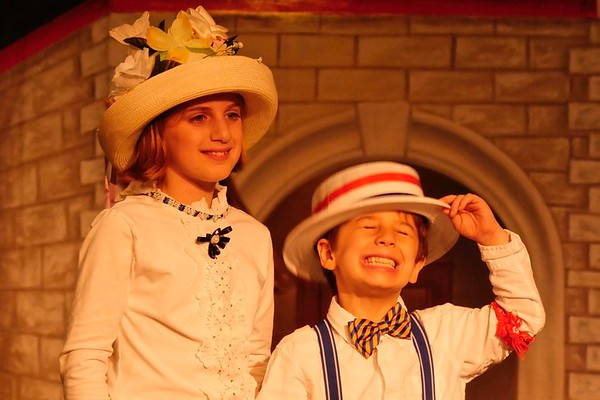 Jordan and Nathan in Music Man