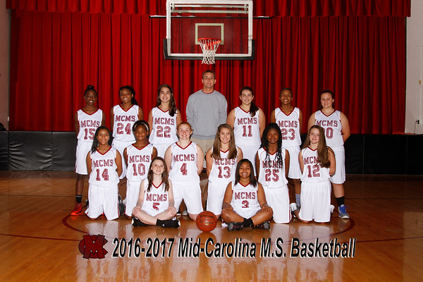 2016-2017 Girls Basketball