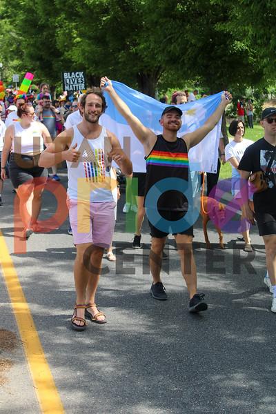 2021 Rainbow Rally & March photos by Harrison Spendlove