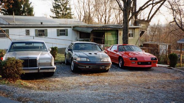 April & October 1994:  The driveway .  .  .