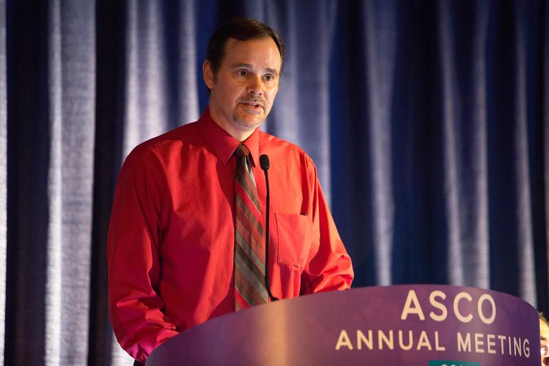 Paul D. Brown, MD, speaks during Multidisciplinary Management of Brain Metastases