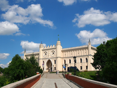 Castle and old city Lublin june 2014