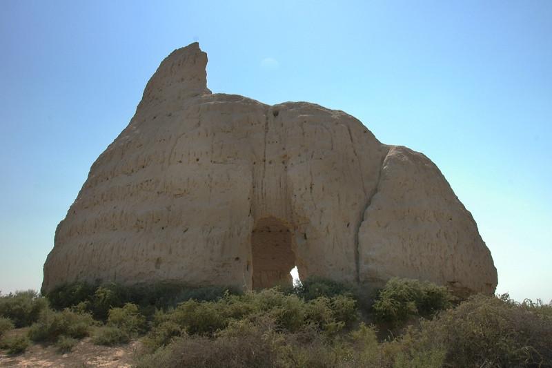 Icehouse Amidst the Heat - Merv, Turkmenistan