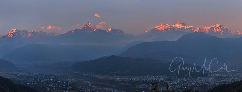 Annapurna and Machepuchre, Nepal