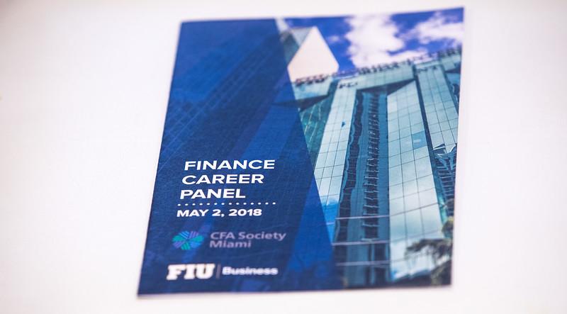 2018 CFA Finance Career Panel