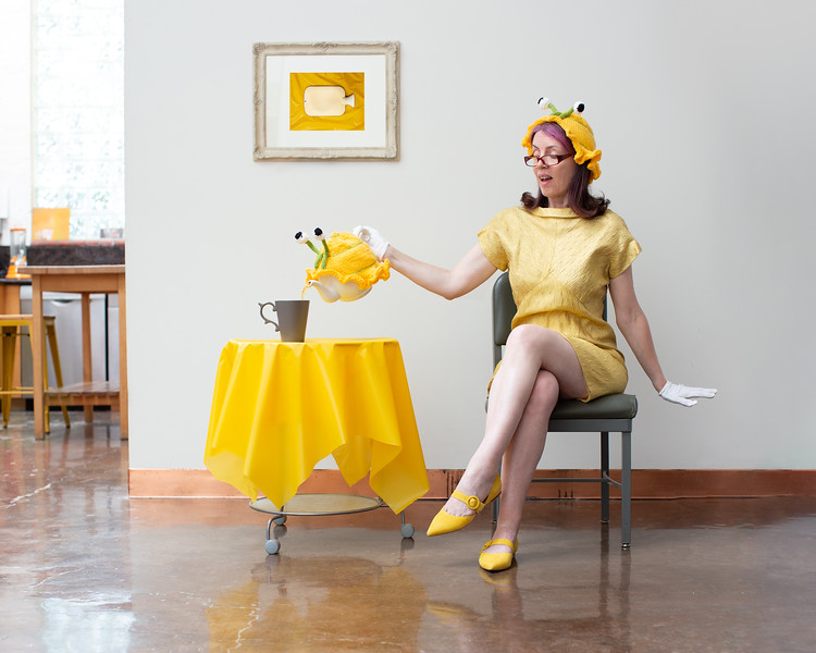 Eccentric in Yellow