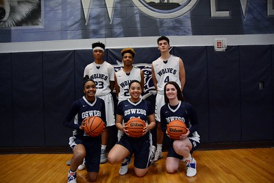 OE  Basketball (Sisters Varsity and brothers on Soph. team) 2016/17