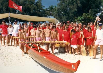 1985 Kamehameha Regatta 6-9-85