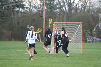 Hudson Girls Lacrosse vs HB