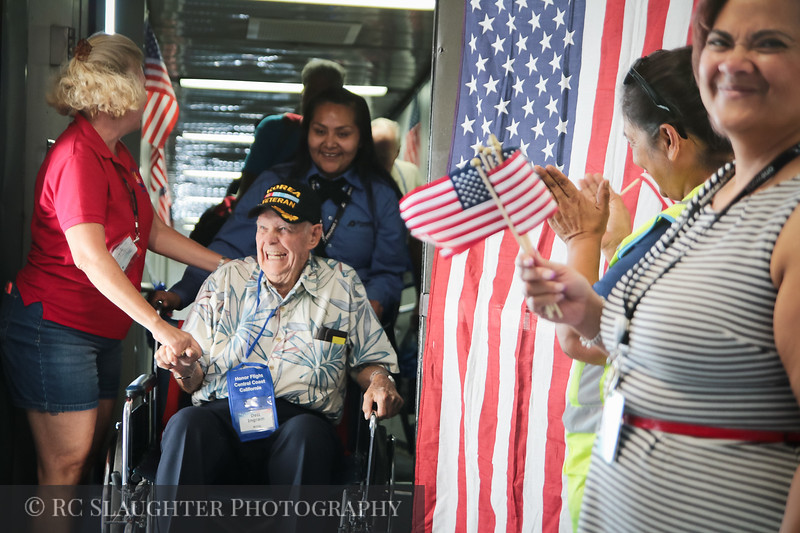 Honor Flight Central Coast California