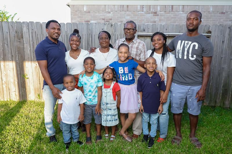 Wilmer & Parents Family Photos