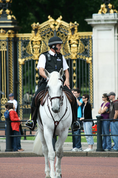 Policeman On Horseback