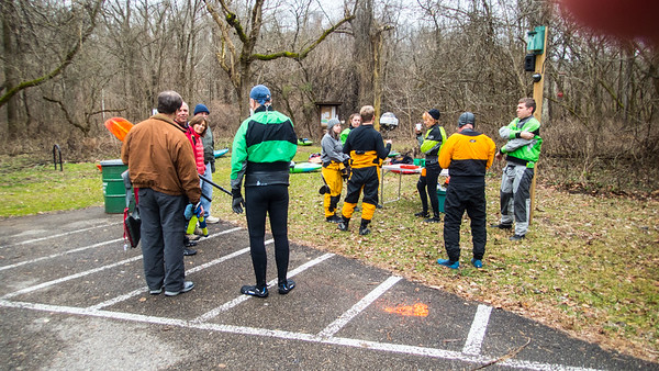 New Year's Day with Cincypaddlers