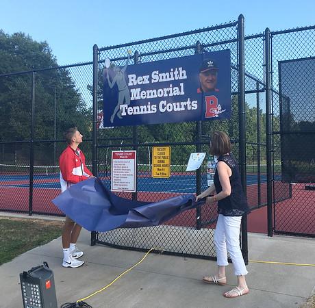 Tennis Court Reveal