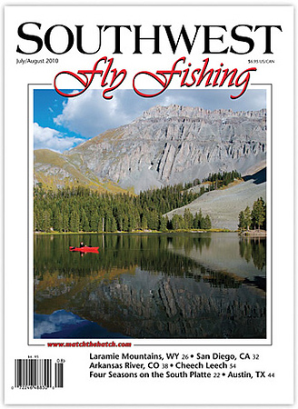 Southwest Fly Fishing cover July/August 2010