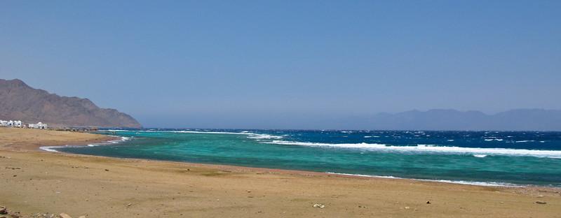 Dahab Coastline  Dahab, Egypt