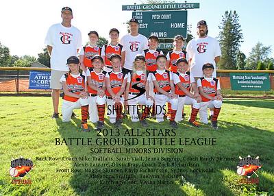 All-Stars Softball Minors