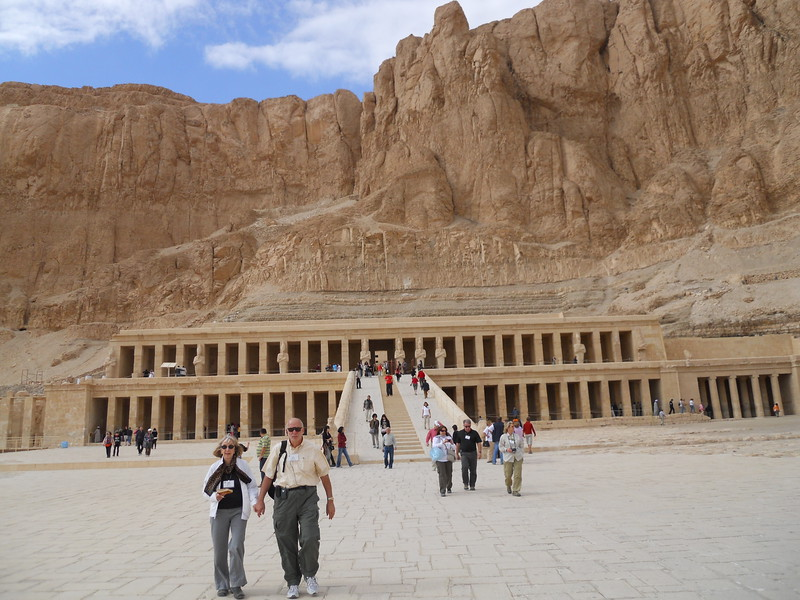Temple of Queen Hatshepsut -- Kimberly Collins