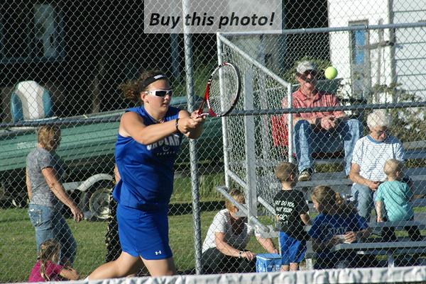 BBE girls' tennis v. Annandale