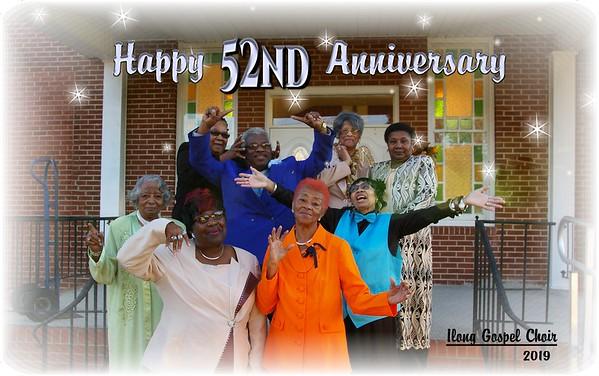 Gospel Group Anniversary