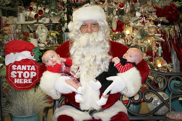 2012 Santa at Blumenladen