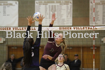 10-30-18 BF volleyball @ LD, Region 8A