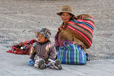 Cholitas from Bolivia