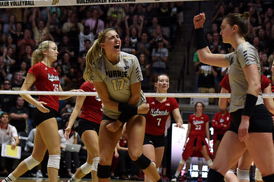 Purdue v Nebraska volleyball  (Oct 14)