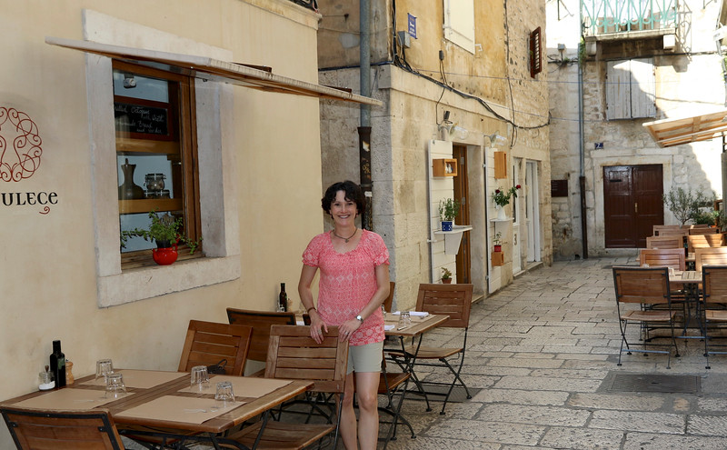 Me in my happy place...roaming ancient streets and never knowing what's around the next corner! - Old Town, Split