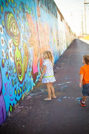 Graffiti Wall Fun!