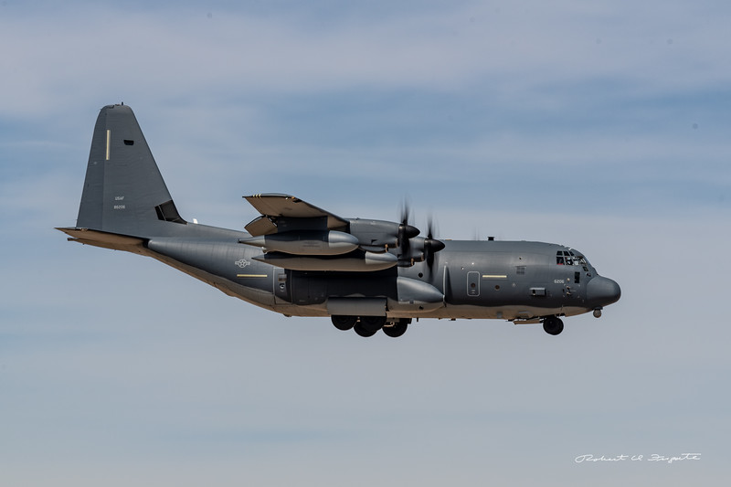 C-130 on approach
