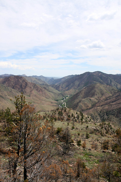Looking South to Hwy 14 and the Poudre River