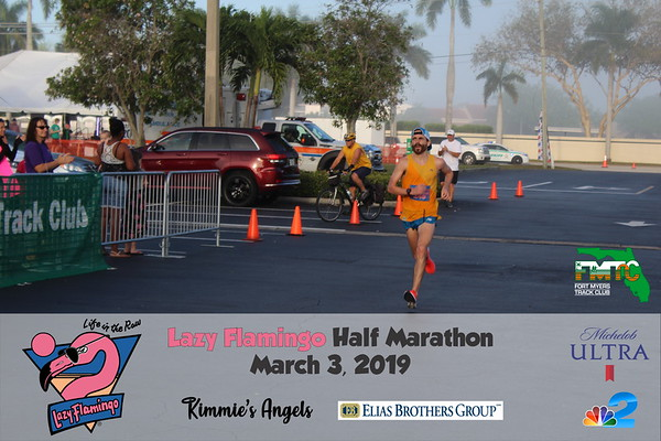 2019 Lazy Flamingo Half Marathon