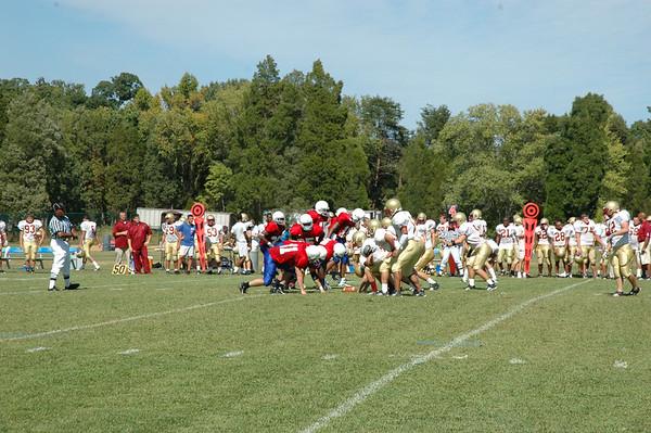 PG Football vs Bridgewater College